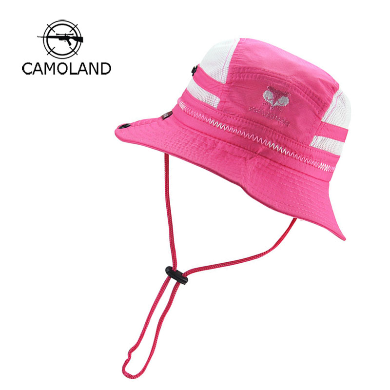 767b52fc3c5 2018 Infant Quick-drying Sun Hat Kids Bucket Hat Summer Fishing Cartoon Cap  Baby Boy Girl Panama Children Animal Beach Outdoors