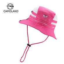 2019 Infant Quick-drying Sun Hat Kids Bucket Hat Summer Fishing Cartoon Cap Baby Boy Girl Panama Children Animal Beach Outdoors(China)