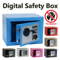 Digital Safe Box Is Fire Drill Resistant Ideal For Home Office Use Safety Security Box Keep