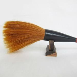 Image 4 - Brosse en forme de trémie fouine cheveux écriture brosses ours brosse à cheveux Script régulier Festival Couplets peinture calligraphie stylo brosse