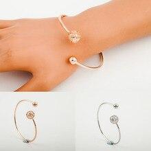 Europe and the United States foreign trade new minimalist fashion ladies bracelet bracelet wholesale geometric opening