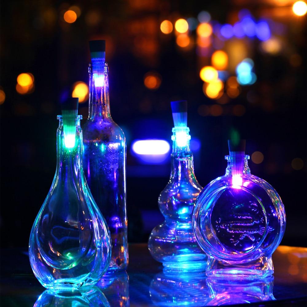 Magic Cork Shaped Rechargeable Wine Bottle Usb Night Light