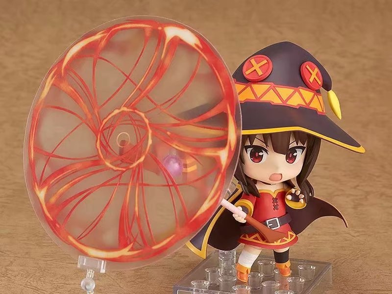 725 Anime ing the Wonderful World With Blessings Megumin Cute BJD Nendoroid Mini Action Figure Model Toys