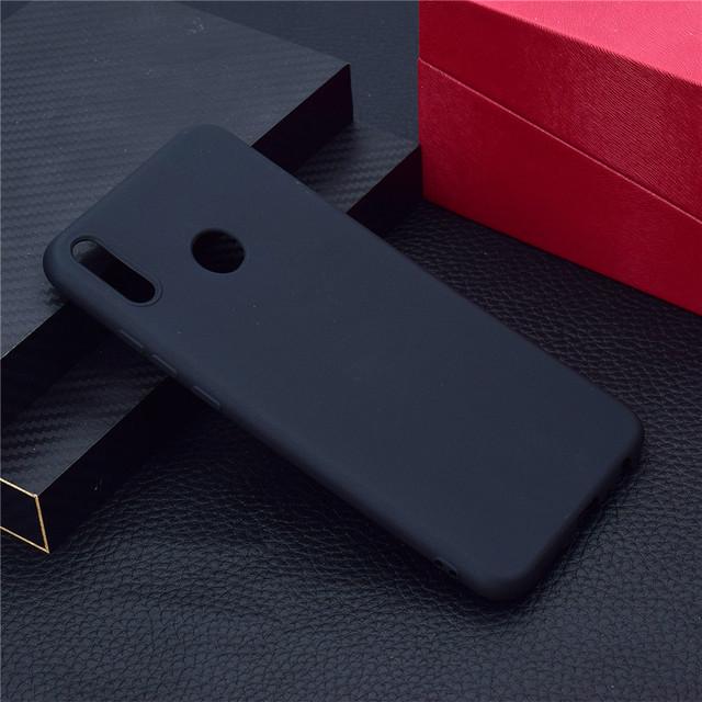 HEMASOLY Case For Huawei Honor 8X Case Plain Soft TPU For Nova 3 Silicone Cover Honor Play Ultra Thin Protective Back Cover