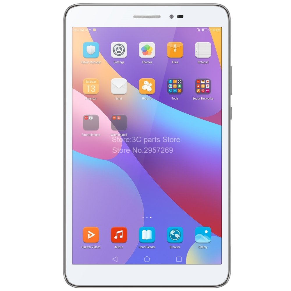 Huawei honor tablet 2 LTE 3g Ram 32G Rom 8 дюймов Qualcomm Snapdragon 616 Andriod 6 8.0MP 4800mah ips 1920*1200 планшетный ПК JDN AL00 - 2