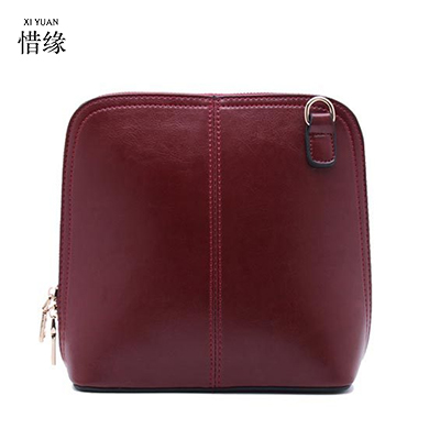 XIYUAN BRAND NEW Vertical Girls Summer Fashion Women GENUINE LEATHER Shoulder Bag TOP Layer Cowhide Crossbody bags Calfskin Bag 2017 new female genuine leather handbags first layer of cowhide fashion simple women shoulder messenger bags bucket bags