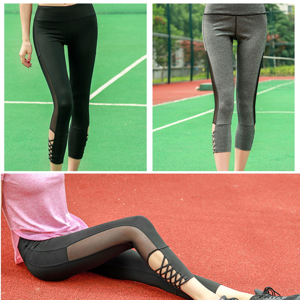 New Brand Sex Movement High Waist Stretched Sports Pants -7896