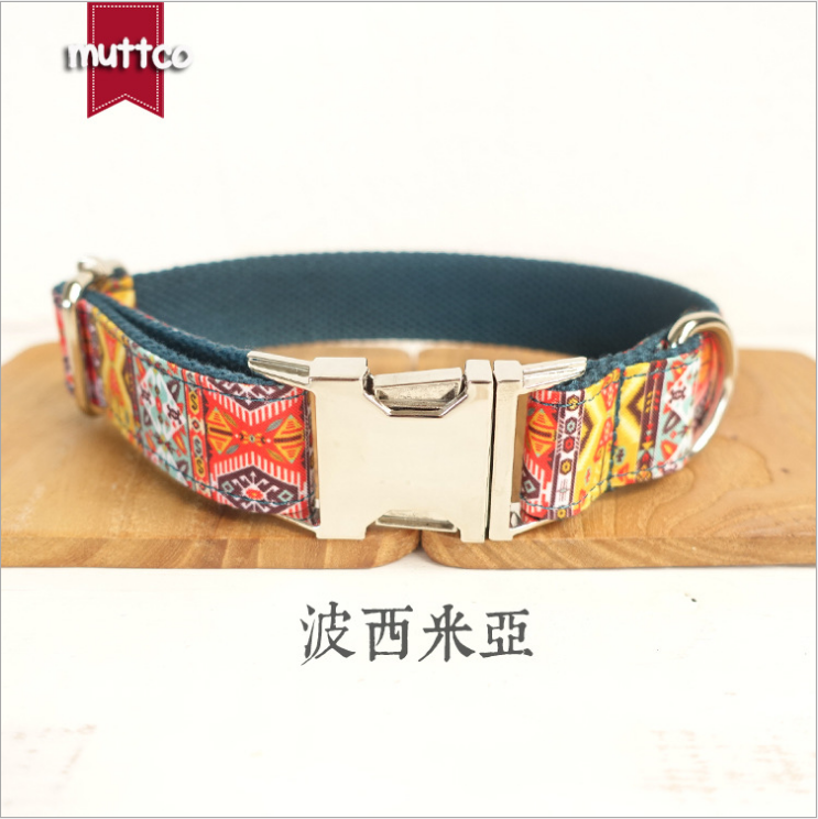 Durable Handmade Creative Fashion Comfort Dog Collar The Bohemian Ethnic Style Dog Products Collars And Pet Leashes