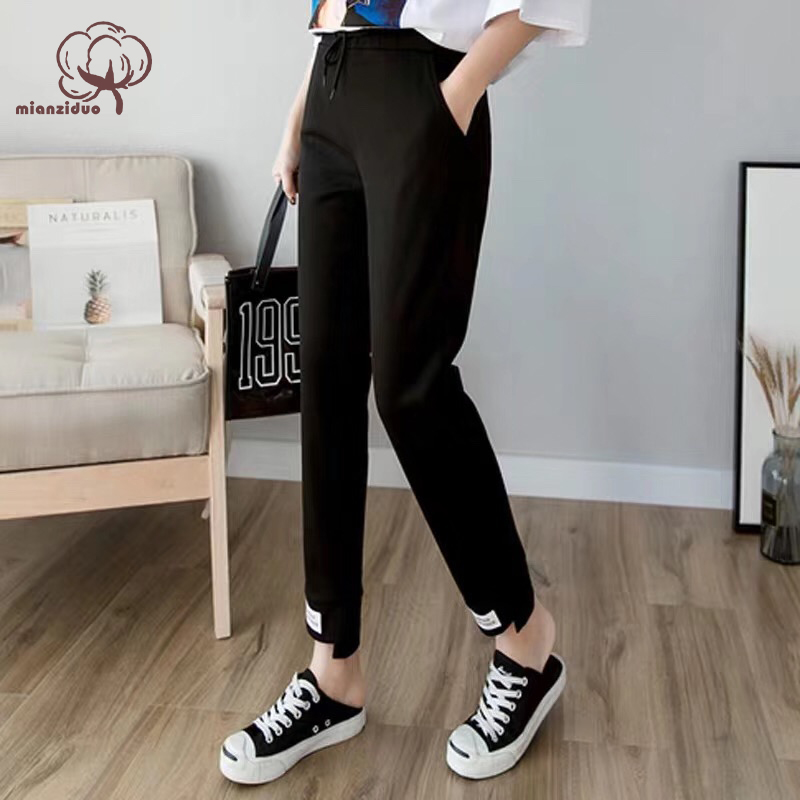 Mianziduo 2019 New Fashion Women's Spring And Summer Free Shipping Home And Office Good Quality Leggings Cotton Pajamas Pants