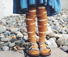 INS Fox Baby Socks Winter Knee High Cartoon Sock Wholesale Children socks Footwear Star Baby Leg Warmers