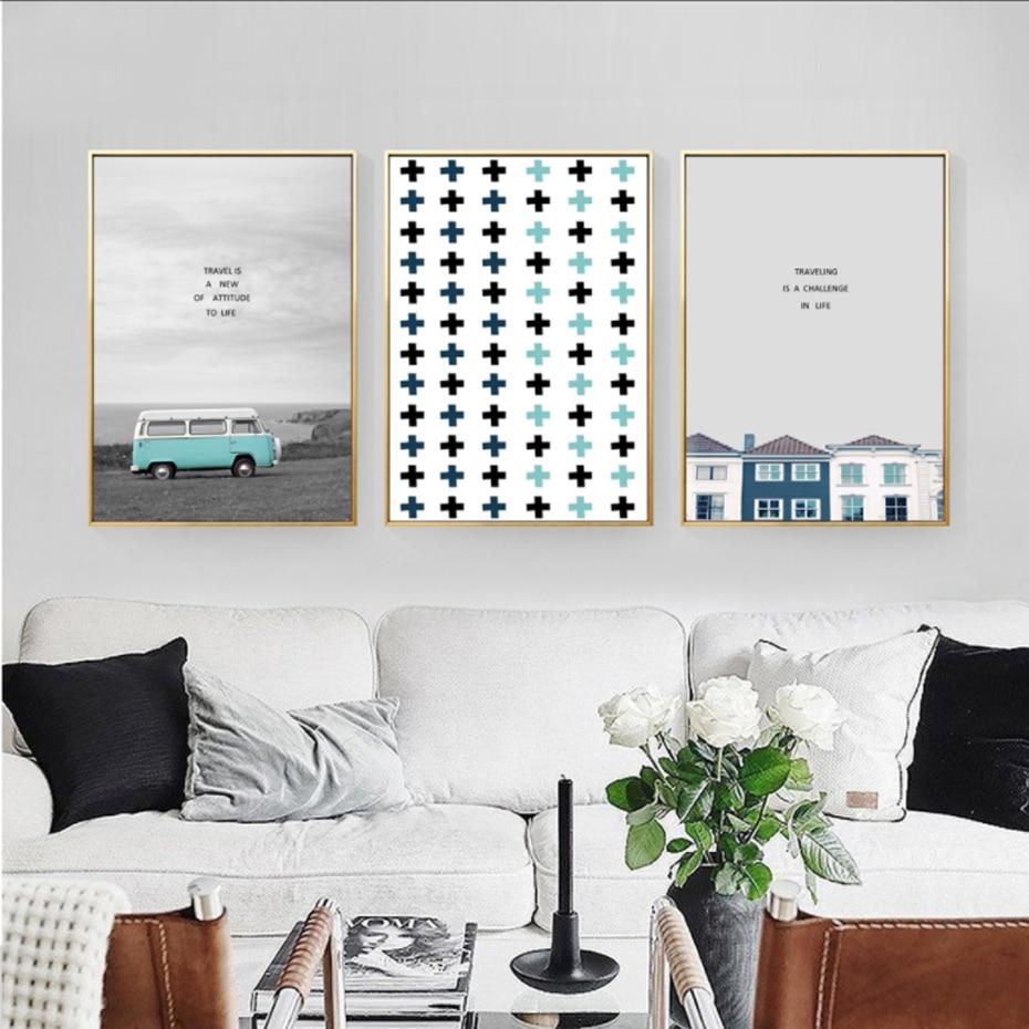 Painting Geometric Wall Wall Art Design
