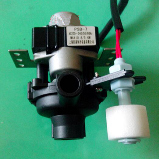 Air Conditioner Parts drain pump with liquid level switch 0.7m 10.8W/9.6W PSB-7A flow rate 500lm/min mj uqk 6 mini submersible pump with float switch small flow high chemical resistance oil tank level switch liquid level sensor