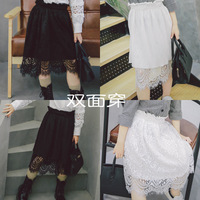 In The Spring Of 2017 New Korean Girls Lace Dress Multi Wear On Both Sides All