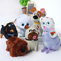 12-25cm Pets Plush Toys Max Snowball Gidget Mel Chloe Buddy Duke Dog Animals Cartoon Dolls Stuffed Toys
