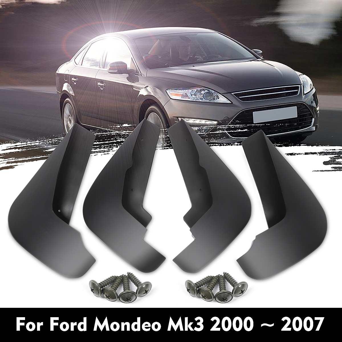 자동차 머드 플랩 플랩 스플래쉬 가드 mudguards mudflaps for ford/mondeo mk3 2000 2001 2002 2003 2004 2005 2006 2007