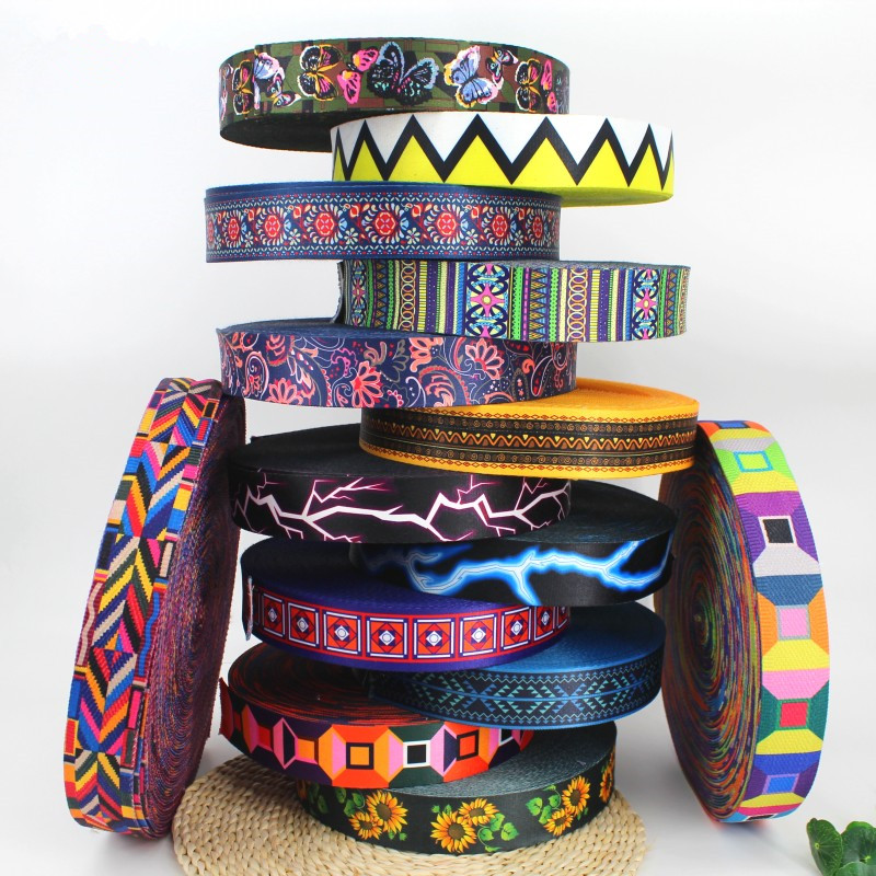 STRAPS BAGS DOG COLLARS CAMOUFLAGE PATTERN 1mm* HEAVY DUTY WEBBING