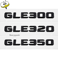 Black DIY Car Styling Car Sticker Emblem Decal Badge Decoration Automobile Accessories For Mercedes Benz GLE300