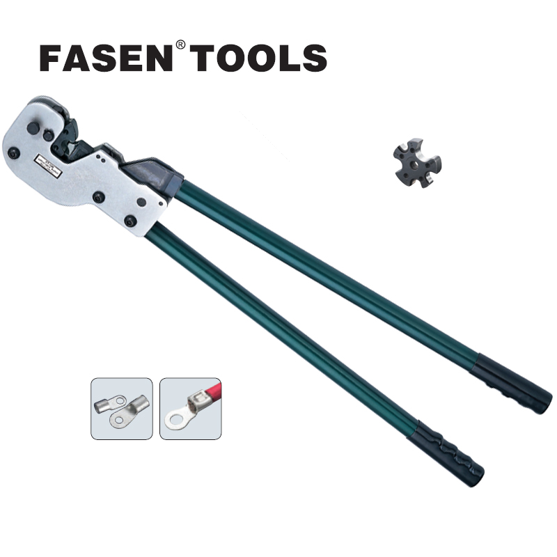 FASEN TOOLS CT-150 copper tube terminal crimping tool non-insulated terminals 16-150mm 5-250/300MCM big size crimping tools saipwell hp 240 hydraulic crimping tools for copper and aluminum terminals 16 240mm2