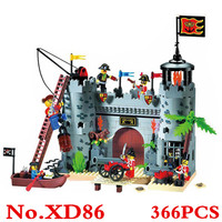 Building Blocks Toy Castle Pirate Ship Boat Compatible With Lepine 3D Blocks Educational Building Toys Hobbies