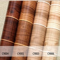 Waterproof Luxury Wood Vinyl Wallpaper For Walls 3 D Wall Paper Roll Living Room Background Wall