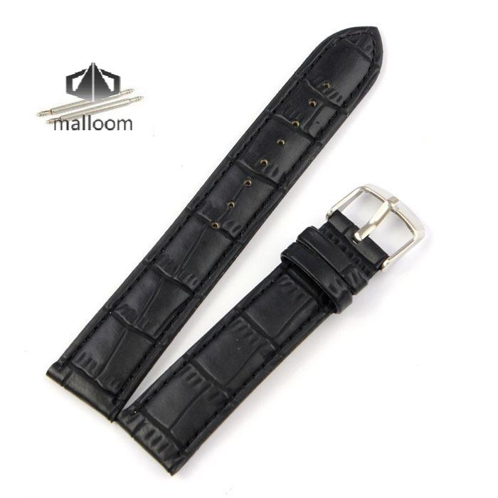 New Arrival 18mm 20mm 22mm Watchbands Genuine Leather High Quality Bracelet Watch Band Black / Brown Wholesale Free Shipping 18mm 19mm 20mm 21mm 22mm available new high quality black or brown genuine leather watch bands straps free shipping