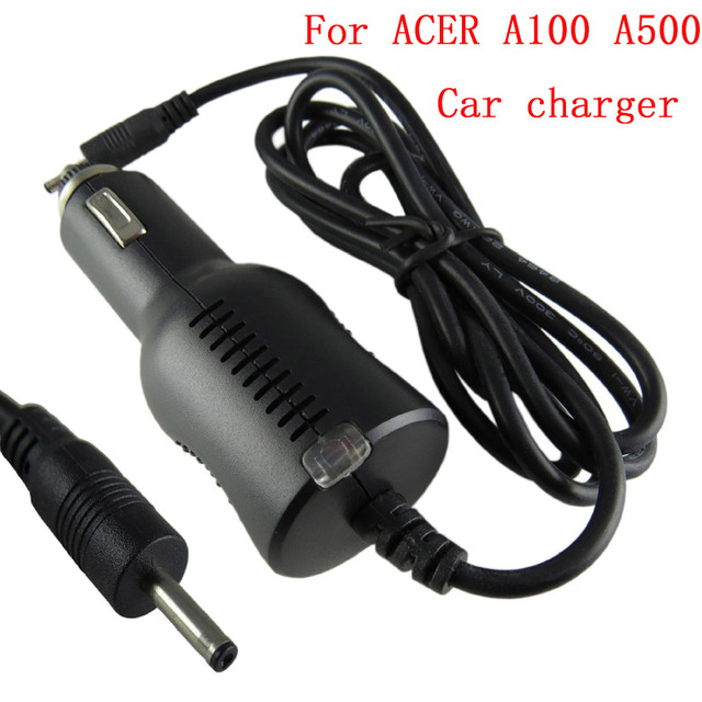 New Car Charger 12V1.5A Power Adapter For Acer Iconia A100 A500 Tablet Power Adapter Power Converter