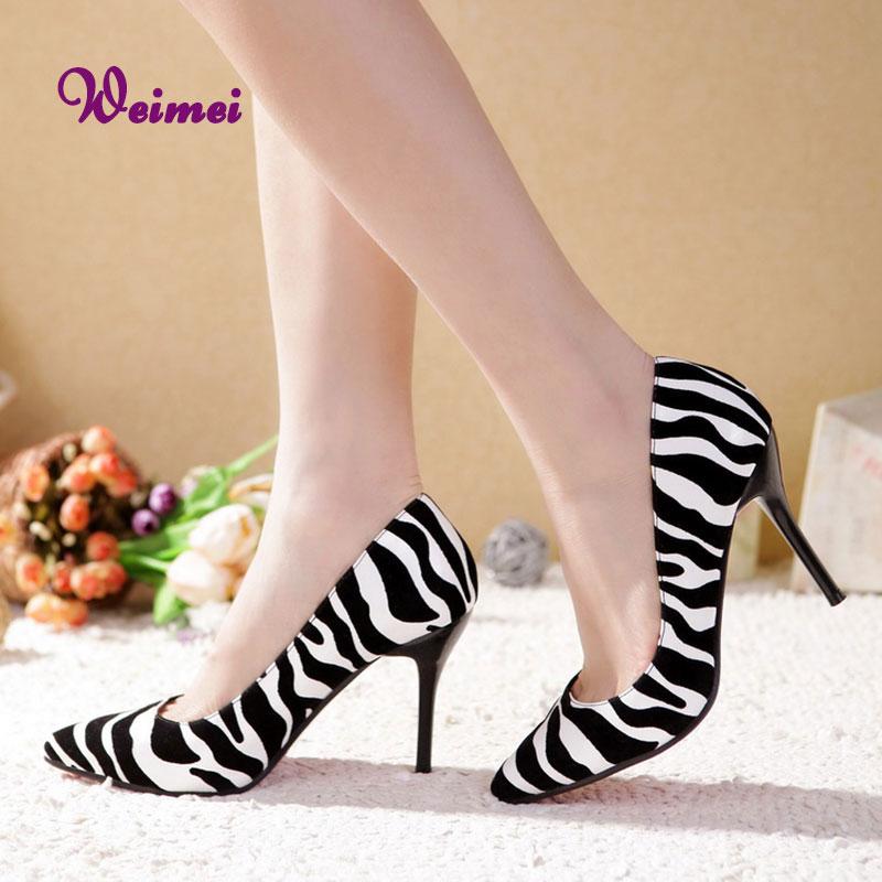 Zebra Striped Prom Dresses 4