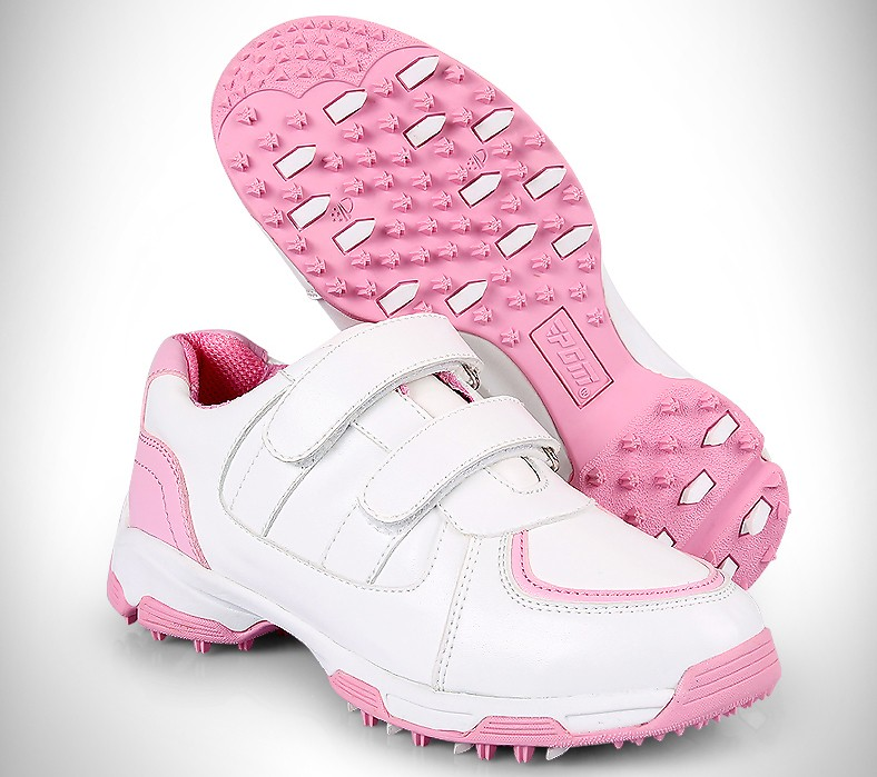 High quality!PGM children's golf shoes boys and girls 3D breathable tank patent shoes non-slip waterproof,Free shipping 2018 new pgm high quality golf children s club boys and girls putt free shipping