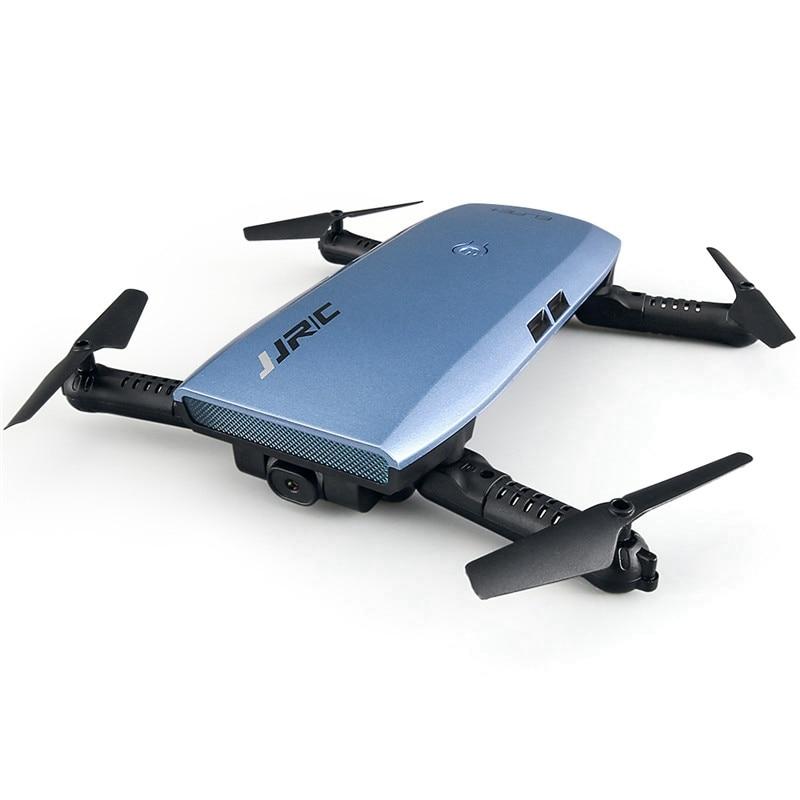 JJRC H47 ELFIE Plus Selfie Drone พร้อมกล้อง HD 720P แบบพับได้ RC Selfie Drone Controller Quadcopter VS H37 dron-ใน เฮลิคอปเตอร์ RC จาก ของเล่นและงานอดิเรก บน   2