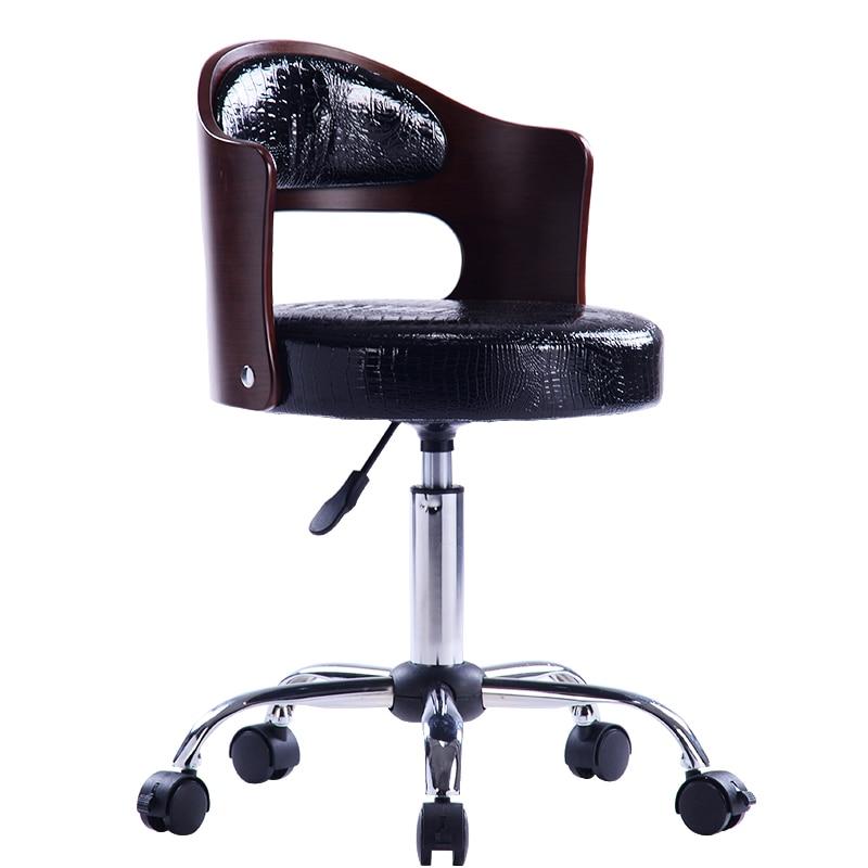15% High Quality  Bar Table Chair Lift Swivel Chair Back Nail Chair Computer Chair Home Fashion Creative Beauty Stool Bar Stool
