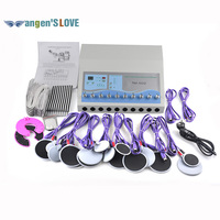 DHL Shipping TM 502 Electrical Muscle Loss Weight Stimulation Machines Electro Fat Loss Machine With 20pcs Pads Loss Weight