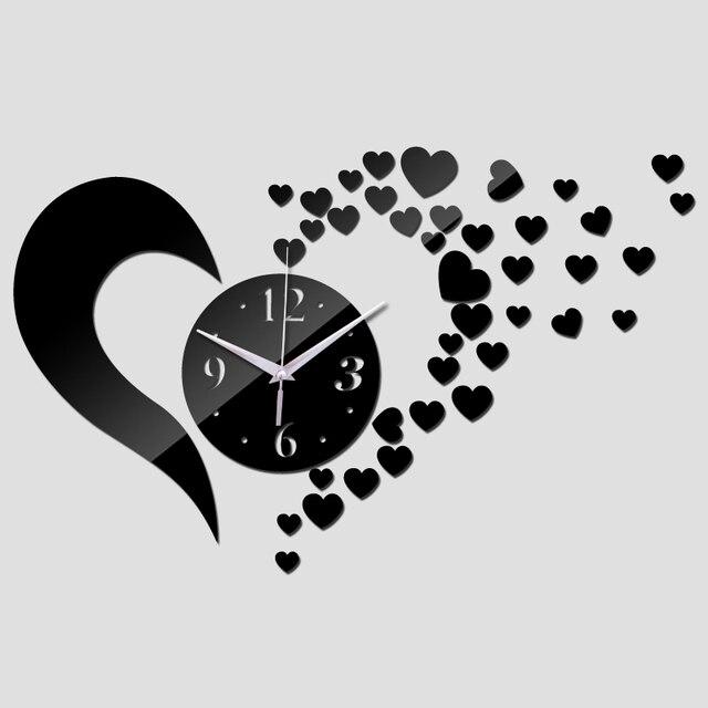 Zegar Ścienny Heart