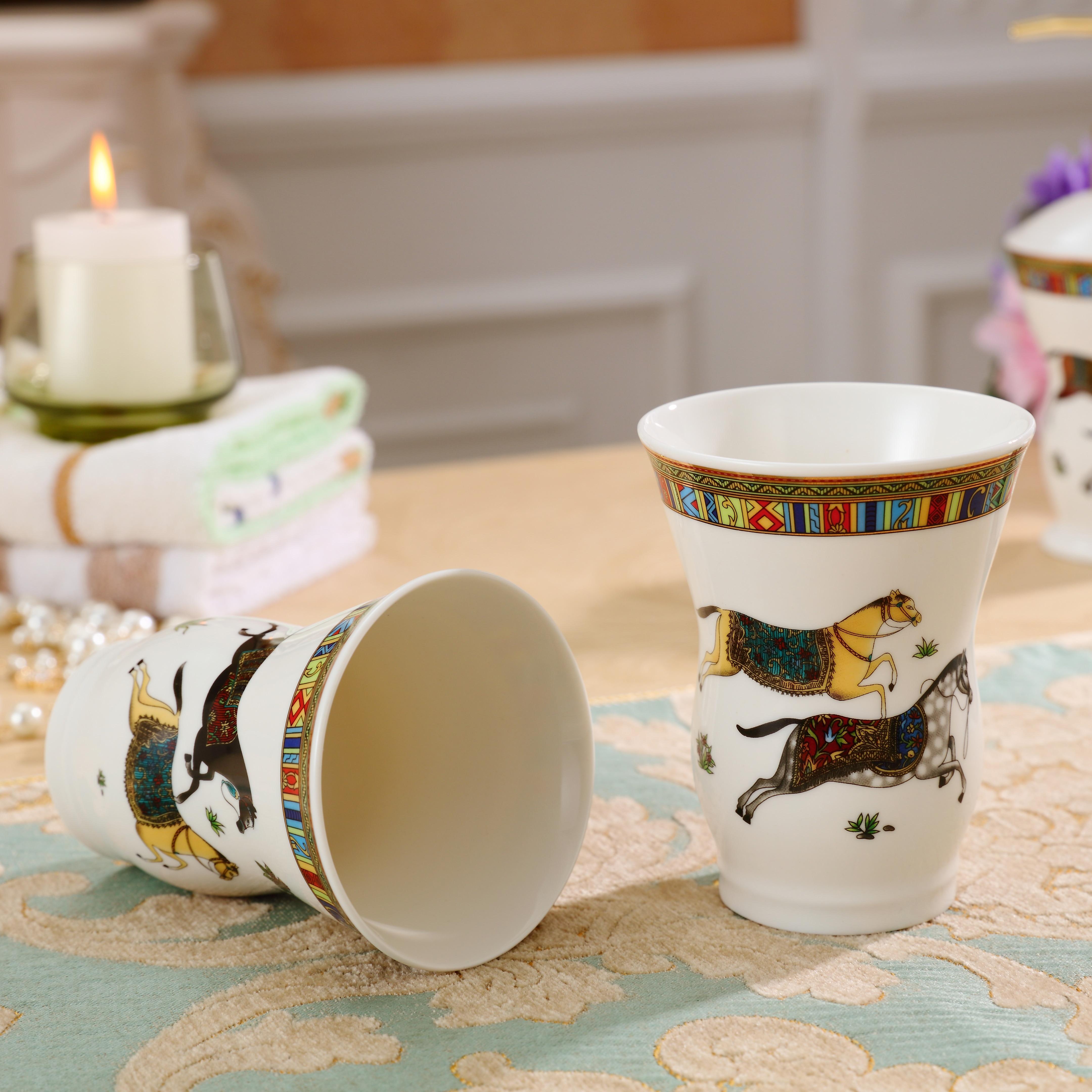 Sets Ceramic Horse Toilet Accessories