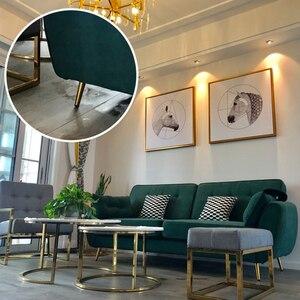 Image 5 - 4 pièces pieds de meubles en acier inoxydable 10 cm Tables armoires pieds canapé lit meuble TV pied avec vis de montage noir pieds obliques