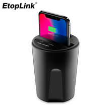 New Fast Wireless Charger Car Wireless Charging Cup USB Charging Holder For Samsung Galaxy S8 S7 S6 edge iPhone X 8 10 LG Nexus