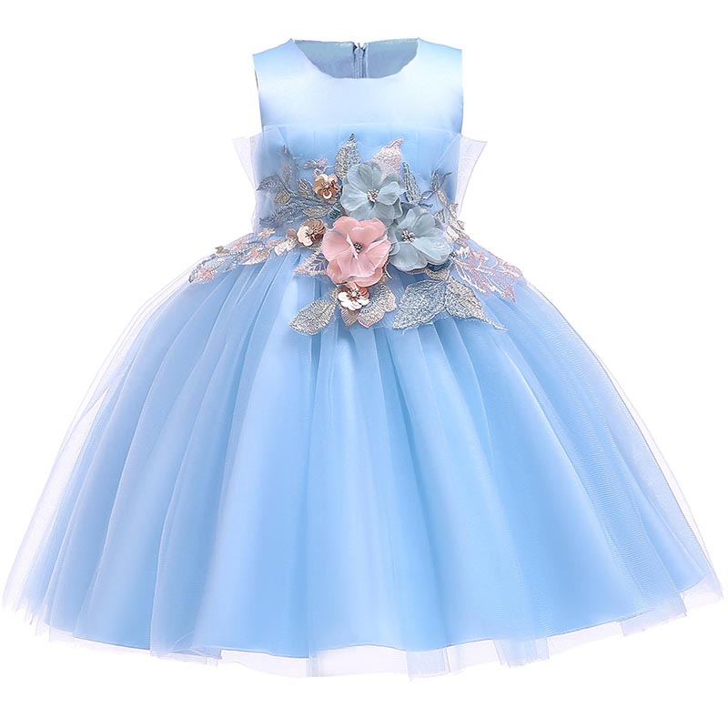 2018 Baby Mädchen Kleid Für Mädchen Hochzeit Prinzessin Party Kleider Kinder Sommer Kleid Neue Baumwolle Futter Kinder Mädchen Kleidung