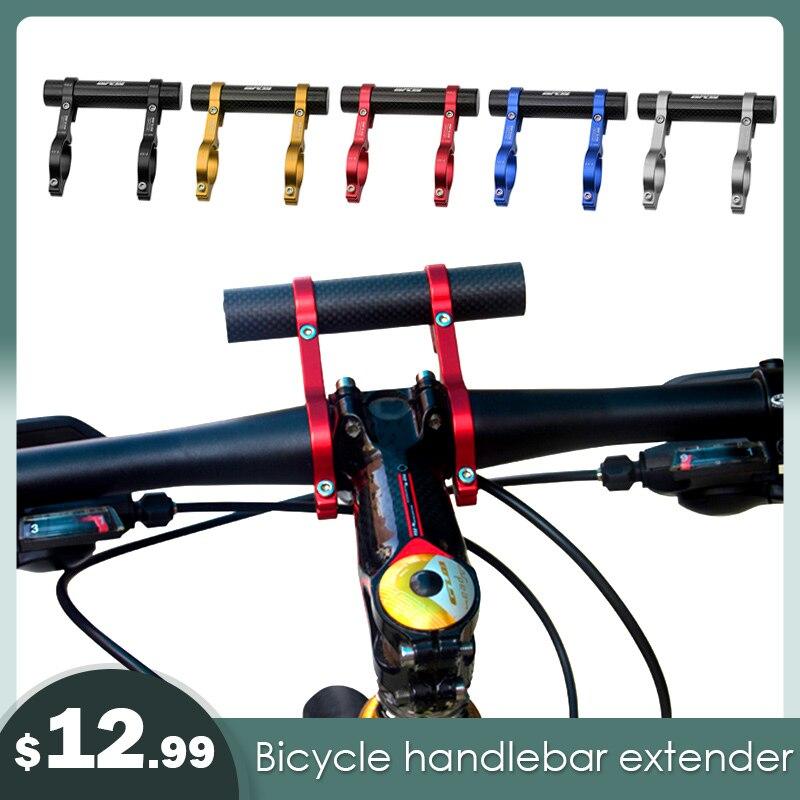 Carbon Fiber Bicycle Bike Handlebar Extender Bracket Mount Phone Holder