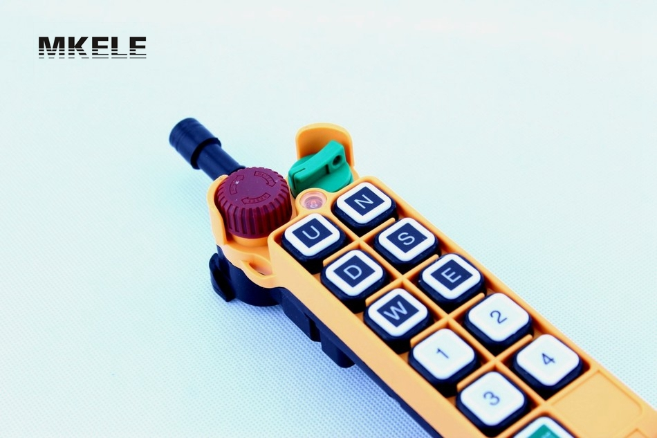 High Quality New Arrivals Crane Industrial Remote Control HS-10S Wireless Transmitter Push Button Switch China hs 10s crane industrial remote control switch hs 10s wireless transmitter switch