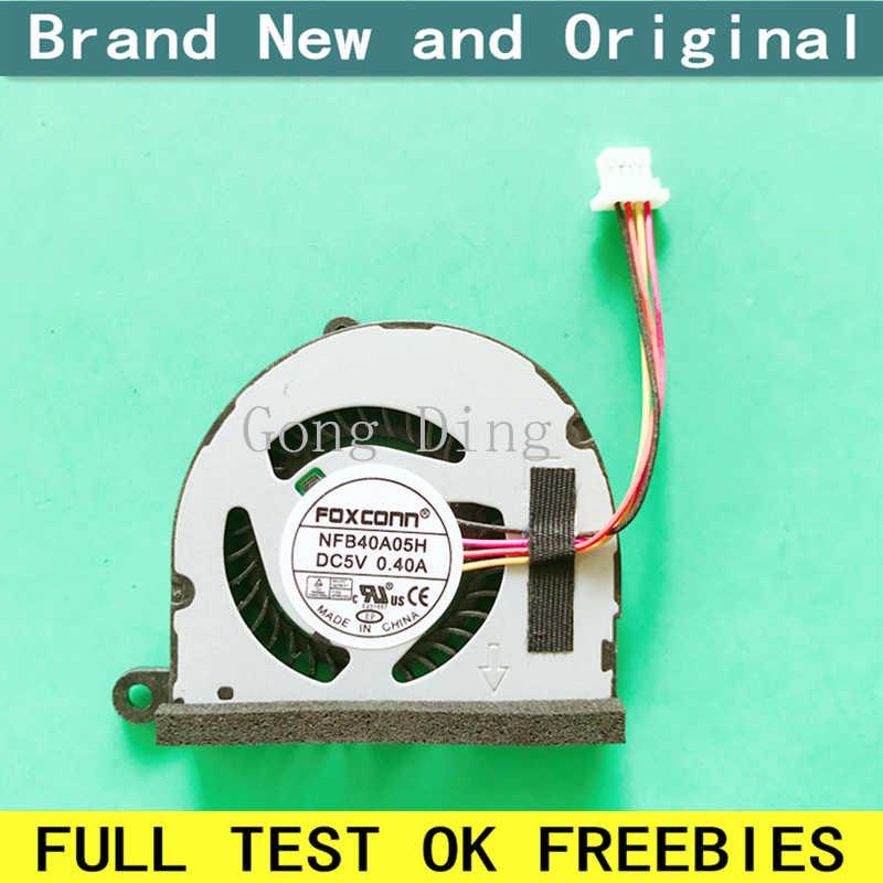 Новый вентилятор для процессора ноутбука кулер Тетрадь совместим с Asus eee pc 1015 1015 T 1015pe 1015PX 1015PE-BBK603 1015PEB 1015PW ноутбуки