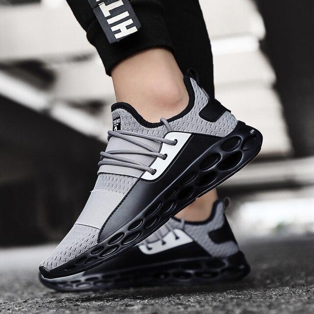 Stijlvolle Vier Seizoenen Loopschoenen Voor Mannen Air Ademend Lichtgewicht Sportschoenen Zwart Rood Mannelijke Gym Sneakers Betis Zapatillas