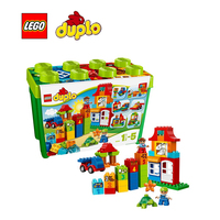 LEGO Duplo Deluxe Box Of Fun Architecture Building Blocks Model Kit Plate Educational Toys For Children
