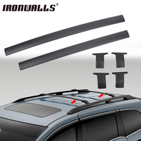 Ironwalls Roof Rack Cross Bars Top Roof Box Luggage Boat Carrier 132LBS 60KG For Honda Odyssey