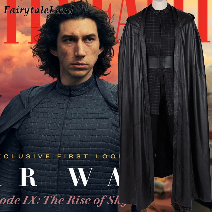 Star Wars The Rise Of Skywalker Kylo Ren Costume Custom Made Halloween Costume Ben Solo Outfit Jedi Killer Suit With Boots Movie Tv Costumes Aliexpress