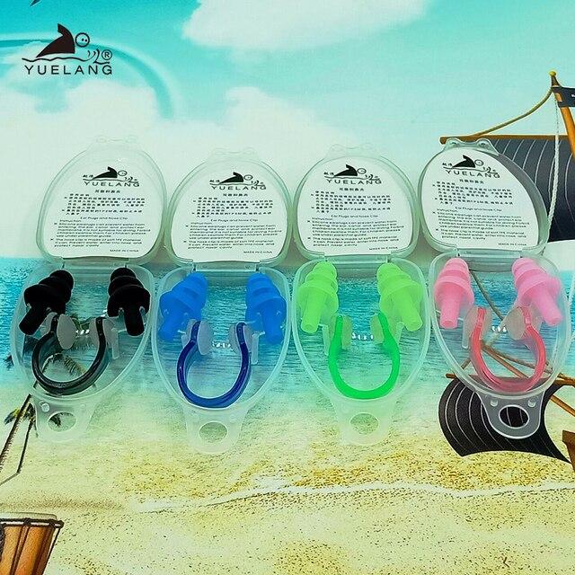 4/1 Pair Soft swim Ear Plugs Environmental Silicone Waterproof Dust-Proof Earplugs Diving Water Sports Swimming Accessories