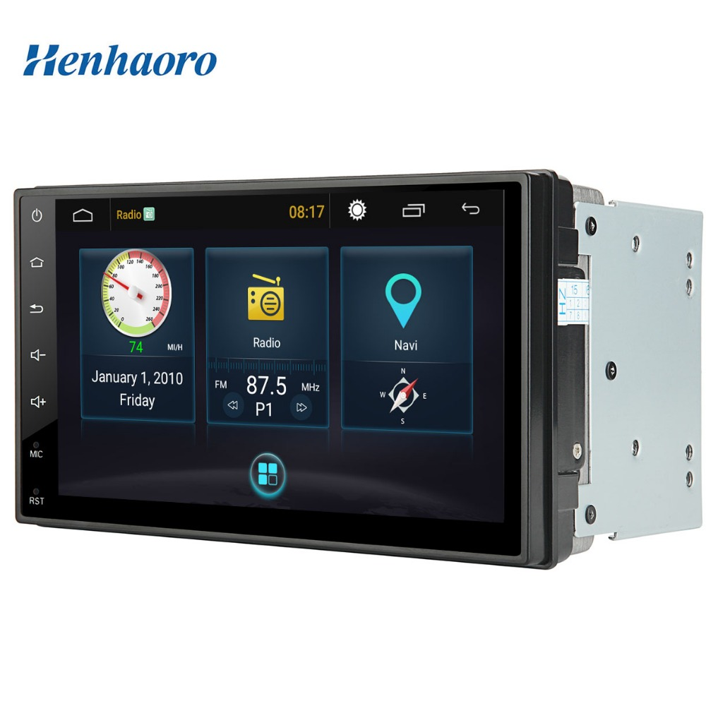Android Car Stereo Quad Core Touch Screen Gps Autoradio