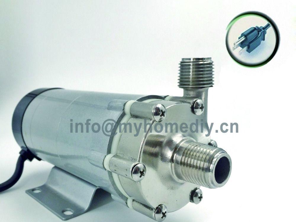 304 roostevaba pea Magnetpump 15R, Homebrew pump, toiduklassi kõrge temperatuurikindel 140C õlle magnetseade