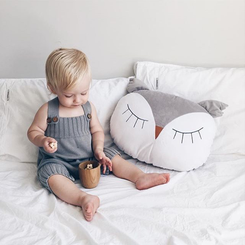 Baby Owl Pillow Kids Sleep Cushion Bunny Neck Pillows Baby Decoration Room Infant Baby Boys Girls Decorate Christmas Cute Gift ...