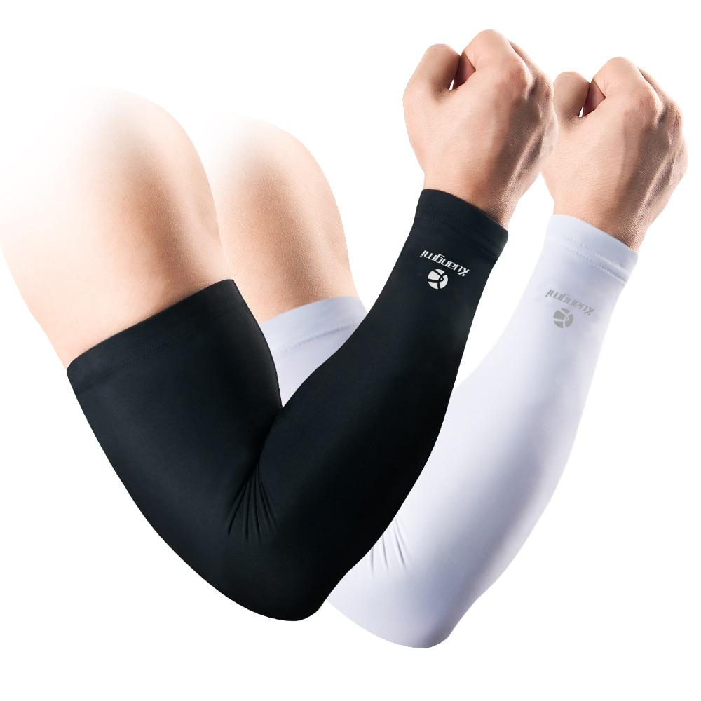 2 հատ Kuangmi Compression Arm Sleeve Arm Warmers - Սպորտային հագուստ և աքսեսուարներ - Լուսանկար 1