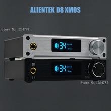 ALIENTEK D8 digital amplifier XMOS USB DAC decoder / sound / optical / coaxial HiFi amplifier class d