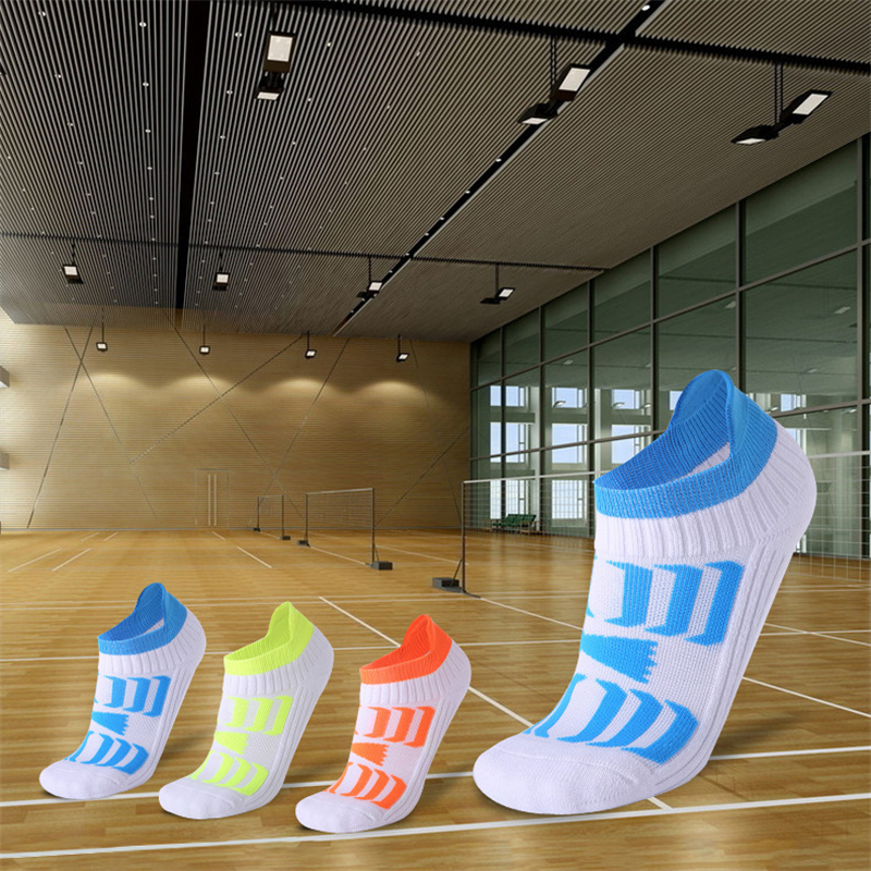 Sport Socks Breathable Anti-slid Running Socks Athletic Outdoor Gym Socks Compression Low Cut Free Size Durable Sport Socks